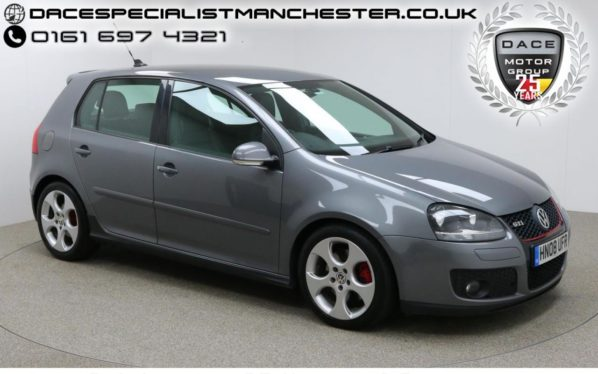 Used 2008 GREY VOLKSWAGEN GOLF Hatchback 2.0 GTI 5d AUTO 197 BHP (reg. 2008-04-26) for sale in Manchester