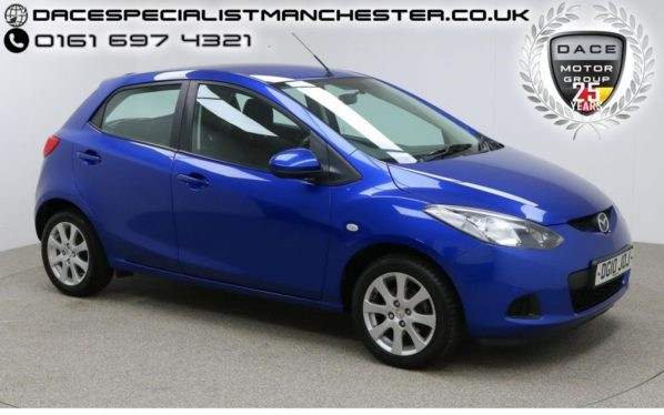 Used 2010 BLUE MAZDA 2 Hatchback 1.3 TS2 5d 85 BHP (reg. 2010-03-31) for sale in Manchester