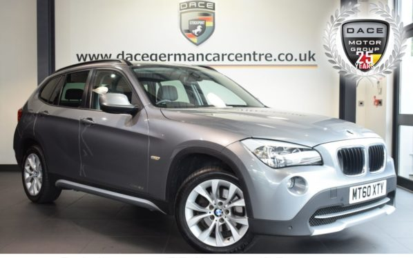 Used 2010 GREY BMW X1 Estate 2.0 SDRIVE18D SE 5DR 141 BHP excellent service history (reg. 2010-12-29) for sale in Bolton