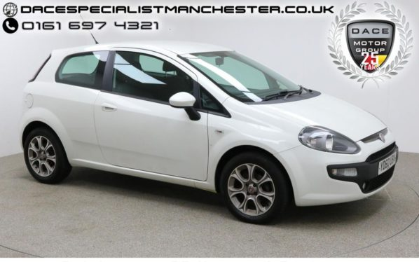 Used 2010 WHITE FIAT PUNTO EVO Hatchback 1.4 GP 3d 77 BHP (reg. 2010-09-17) for sale in Manchester