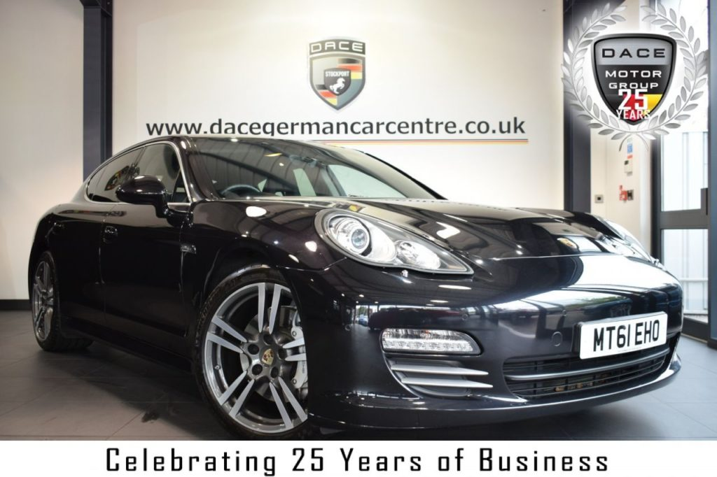 Used 2011 BLACK PORSCHE PANAMERA Hatchback 4.8 4S PDK 5DR 400 BHP full service history (reg. 2011-11-29) for sale in Bolton