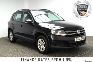 Used 2011 BLACK VOLKSWAGEN TIGUAN Estate 2.0 S TDI BLUEMOTION TECHNOLOGY 5DR 138 BHP FULL SERVICE HISTORY (reg. 2011-11-02) for sale in Stockport