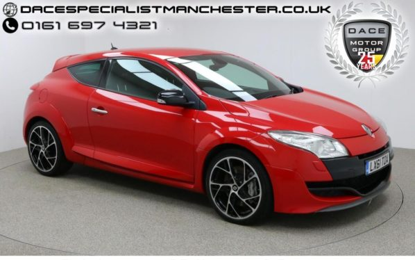 Used 2011 RED RENAULT MEGANE Coupe 2.0 RENAULTSPORT 16V 3d 247 BHP (reg. 2011-09-01) for sale in Manchester