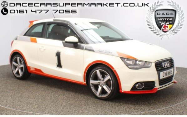 Used 2011 WHITE AUDI A1 Hatchback 1.4 TFSI SPORT 3DR SAT NAV 122 BHP (reg. 2011-04-21) for sale in Stockport