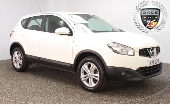 Used 2011 WHITE NISSAN QASHQAI Hatchback 1.6 ACENTA 5DR 117 BHP (reg. 2011-04-18) for sale in Stockport