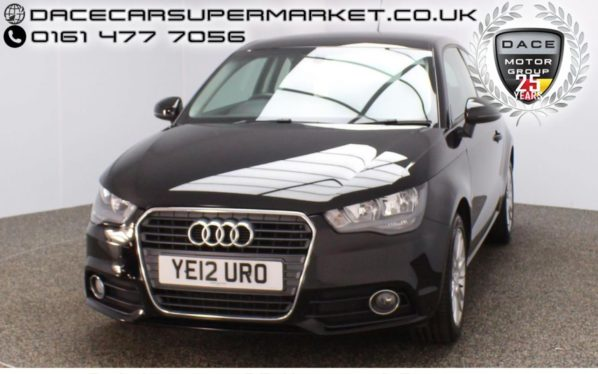 Used 2012 BLACK AUDI A1 Hatchback 1.4 TFSI SPORT 3DR 122 BHP (reg. 2012-05-26) for sale in Stockport