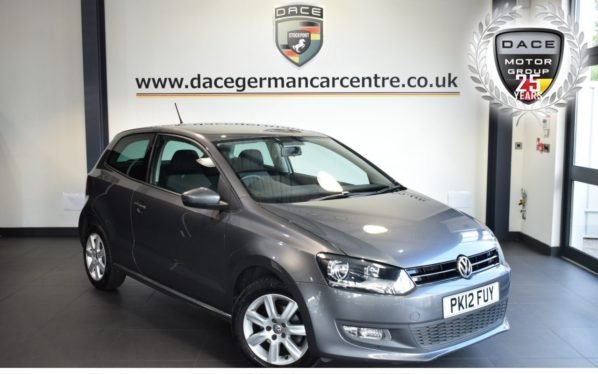 Used 2012 GREY VOLKSWAGEN POLO Hatchback 1.4 MATCH DSG 3DR 83 BHP full service history (reg. 2012-04-30) for sale in Bolton