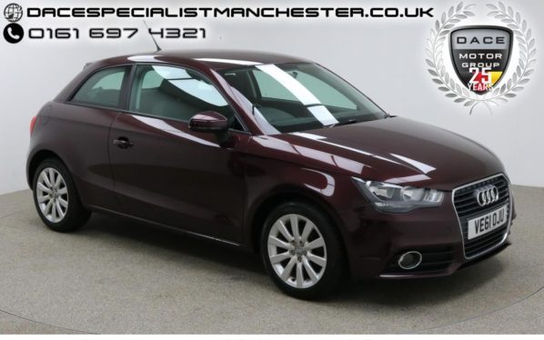 Used 2012 RED AUDI A1 Hatchback 1.2 TFSI SPORT 3d 84 BHP (reg. 2012-01-20) for sale in Manchester