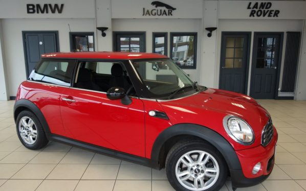 Used 2012 RED MINI HATCH ONE Hatchback 1.6 ONE 3d 98 BHP (reg. 2012-06-29) for sale in Hazel Grove