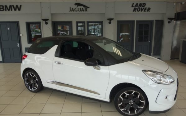 Used 2012 WHITE CITROEN DS3 Hatchback 1.6 E-HDI DSTYLE PLUS 3d 90 BHP (reg. 2012-03-20) for sale in Hazel Grove