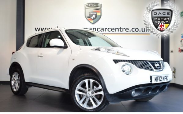 Used 2012 WHITE NISSAN JUKE Hatchback 1.5 TEKNA DCI 5DR 110 BHP full service history (reg. 2012-03-01) for sale in Bolton