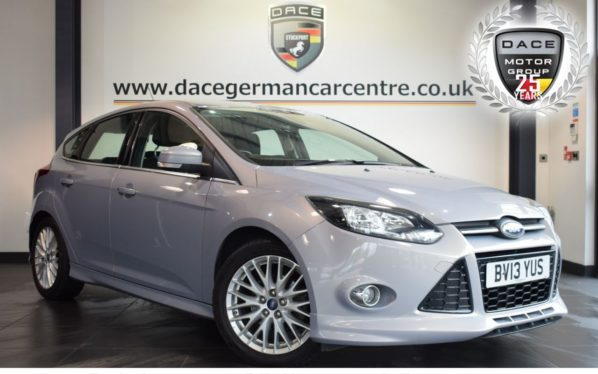 Used 2013 SILVER FORD FOCUS Hatchback 1.6 ZETEC S TDCI 5DR 113 BHP full service history (reg. 2013-03-11) for sale in Bolton