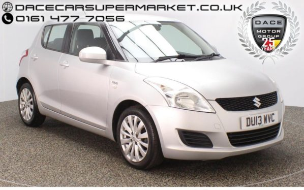 Used 2013 SILVER SUZUKI SWIFT Hatchback 1.2 SZ3 DDIS 5DR 75 BHP  and pound;20 ROAD TAX (reg. 2013-03-01) for sale in Stockport