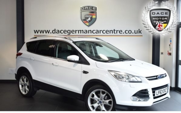 Used 2013 WHITE FORD KUGA Hatchback 2.0 TITANIUM X TDCI 5DR 138 BHP excellent service history (reg. 2013-09-21) for sale in Bolton