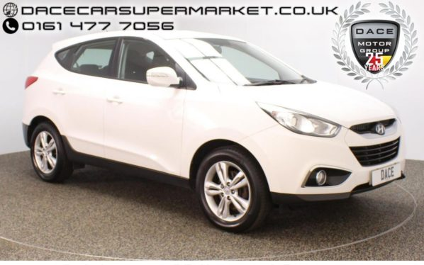 Used 2013 WHITE HYUNDAI IX35 Estate 1.7 STYLE CRDI 5DR HEATED SEATS 114 BHP (reg. 2013-03-05) for sale in Stockport