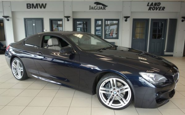 Used 2014 BLACK BMW 6 SERIES Coupe 3.0 640D M SPORT 2d AUTO 309 BHP (reg. 2014-06-28) for sale in Hazel Grove