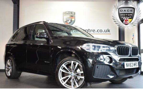 Used 2014 BLACK BMW X5 Estate 3.0 XDRIVE30D M SPORT 5DR AUTO 255 BHP full bmw service history (reg. 2014-12-31) for sale in Bolton