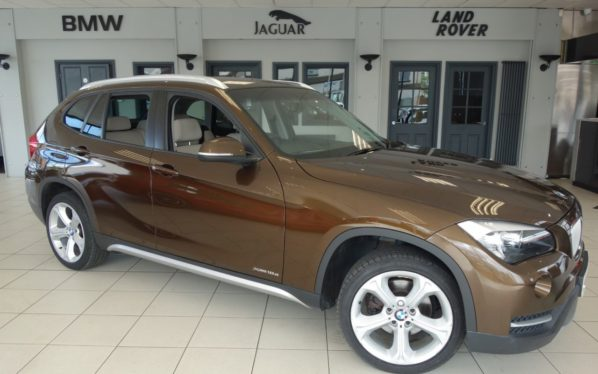 Used 2014 BROWN BMW X1 Estate 2.0 XDRIVE18D XLINE 5d 141 BHP (reg. 2014-11-21) for sale in Hazel Grove