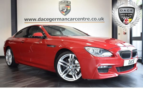 Used 2014 RED BMW 6 SERIES Coupe 3.0 640D M SPORT 2DR AUTO 309 BHP excellent service history (reg. 2014-05-14) for sale in Bolton
