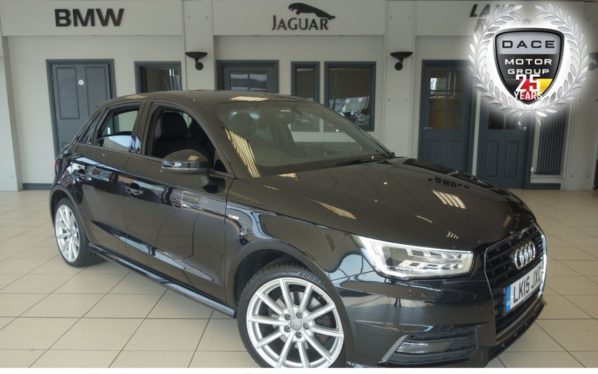 Used 2015 BLACK AUDI A1 Hatchback 1.4 SPORTBACK TFSI S LINE 5d 148 BHP (reg. 2015-05-05) for sale in Hazel Grove