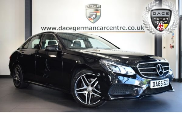 Used 2015 BLACK MERCEDES-BENZ E CLASS Saloon 2.1 E220 BLUETEC AMG NIGHT EDITION 4DR AUTO 174 BHP excellent service history (reg. 2015-09-23) for sale in Bolton