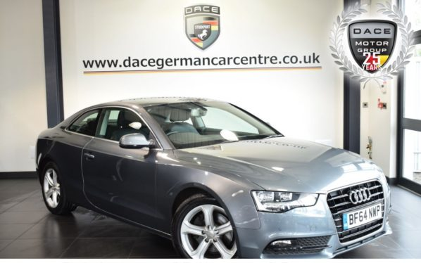 Used 2015 GREY AUDI A5 Coupe 2.0 TDI ULTRA SE 2DR 161 BHP full service history (reg. 2015-09-30) for sale in Bolton