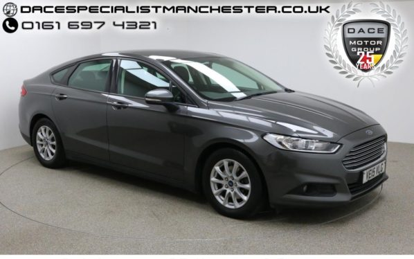 Used 2015 GREY FORD MONDEO Hatchback 2.0 STYLE ECONETIC TDCI 5d 148 BHP (reg. 2015-06-23) for sale in Manchester