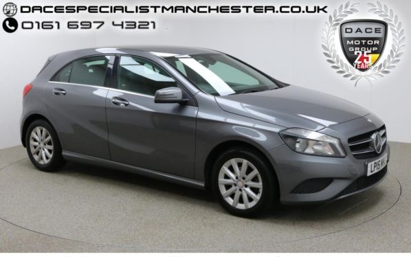 Used 2015 GREY MERCEDES-BENZ A CLASS Hatchback 1.5 A180 CDI BLUEEFFICIENCY SE 5d 109 BHP (reg. 2015-06-16) for sale in Manchester