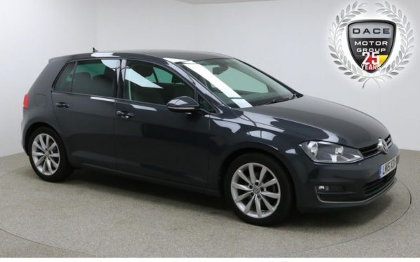Used 2015 GREY VOLKSWAGEN GOLF Hatchback 2.0 GT TDI BLUEMOTION TECHNOLOGY 5d 148 BHP (reg. 2015-05-13) for sale in Manchester