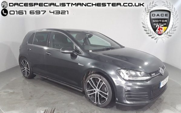 Used 2015 GREY VOLKSWAGEN GOLF Hatchback 2.0 GTD 5d 181 BHP (reg. 2015-06-10) for sale in Manchester