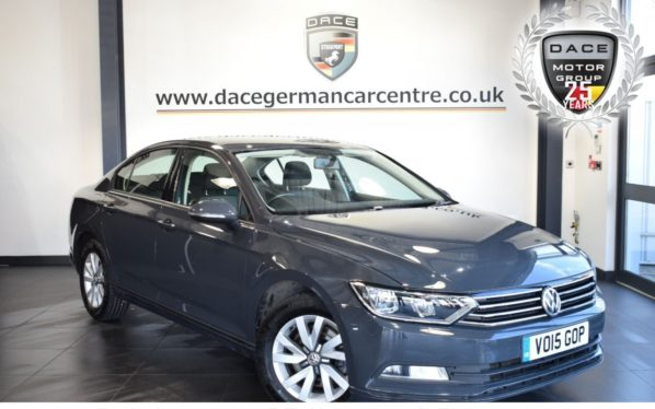 Used 2015 GREY VOLKSWAGEN PASSAT Saloon 2.0 S TDI BLUEMOTION TECHNOLOGY 4DR 148 BHP full service history (reg. 2015-03-23) for sale in Bolton