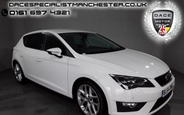 Used 2015 WHITE SEAT LEON Hatchback 1.4 TSI FR TECHNOLOGY 5d 150 BHP (reg. 2015-01-09) for sale in Manchester
