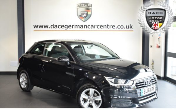 Used 2016 BLACK AUDI A1 Hatchback 1.0 TFSI SE 3DR 93 BHP full service history (reg. 2016-06-21) for sale in Bolton