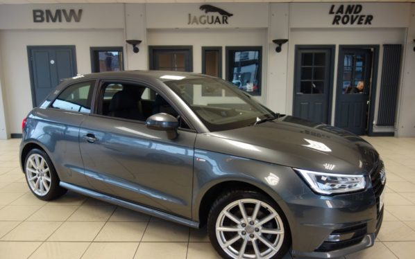 Used 2016 GREY AUDI A1 Hatchback 1.4 TFSI S LINE 3d 123 BHP (reg. 2016-03-14) for sale in Hazel Grove