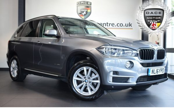 Used 2016 GREY BMW X5 Estate 3.0 XDRIVE30D SE 5DR AUTO 255 BHP full bmw service history (reg. 2016-03-23) for sale in Bolton