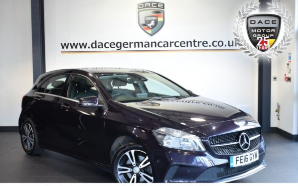 Used 2016 PURPLE MERCEDES-BENZ A CLASS Hatchback 2.1 A 200 D SE EXECUTIVE 5DR 134 BHP full service history (reg. 2016-03-09) for sale in Bolton