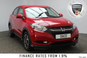 Used 2016 RED HONDA HR-V Hatchback 1.6 I-DTEC SE 5DR 118 BHP 1 OWNER  and pound;20 ROAD TAX BLUETOOTH (reg. 2016-11-15) for sale in Stockport