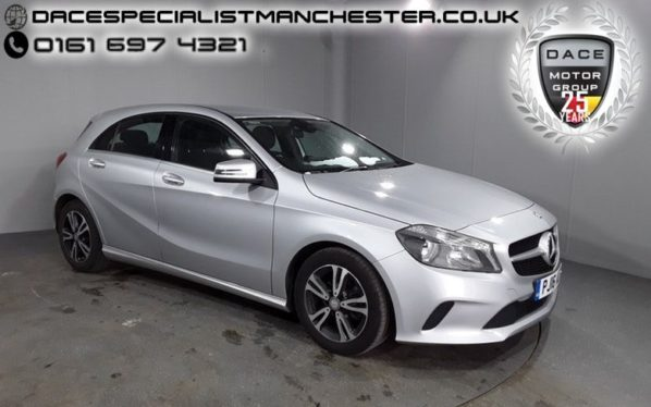 Used 2016 SILVER MERCEDES-BENZ A CLASS Hatchback 1.5 A 180 D SE 5d 107 BHP (reg. 2016-06-10) for sale in Manchester