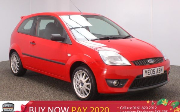 Used 2005 RED FORD FIESTA Hatchback 1.6 ZETEC S 3DR 100 BHP (reg. 2005-05-06) for sale in Stockport