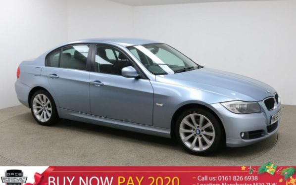 Used 2009 BLUE BMW 3 SERIES Saloon 2.0 318I SE 4d 141 BHP (reg. 2009-09-11) for sale in Manchester