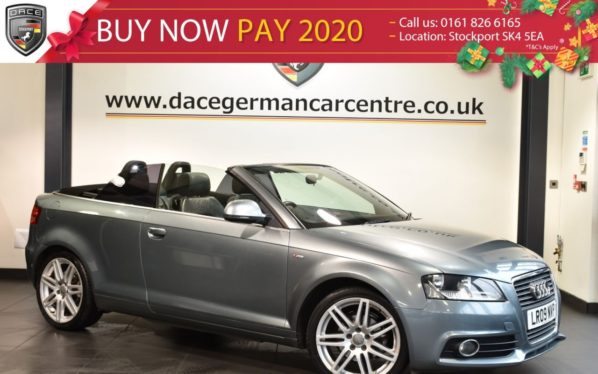 Used 2009 GREY AUDI A3 Convertible 1.6 MPI S LINE 2d 101 BHP (reg. 2009-03-31) for sale in Bolton