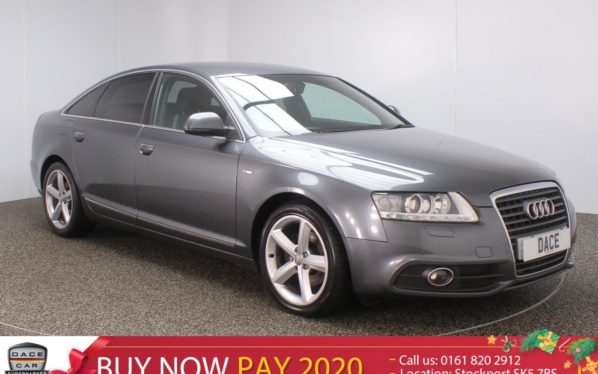 Used 2009 GREY AUDI A6 Saloon 2.0 TDI E S LINE 4DR 134 BHP (reg. 2009-06-19) for sale in Stockport