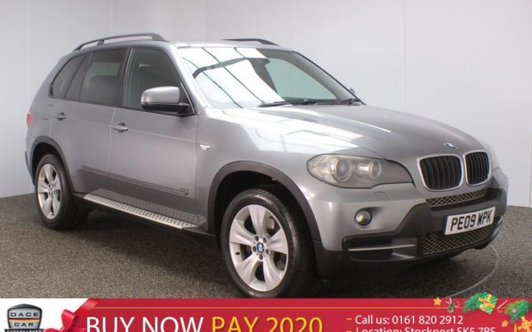 Used 2009 GREY BMW X5 Estate 3.0 D SE 5DR 232 BHP LEATHER (reg. 2009-03-13) for sale in Stockport
