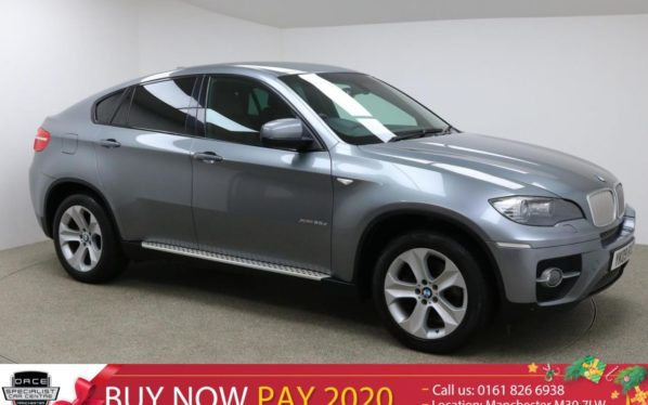 Used 2009 GREY BMW X6 Coupe 3.0 XDRIVE35D 4d AUTO 282 BHP (reg. 2009-08-07) for sale in Manchester