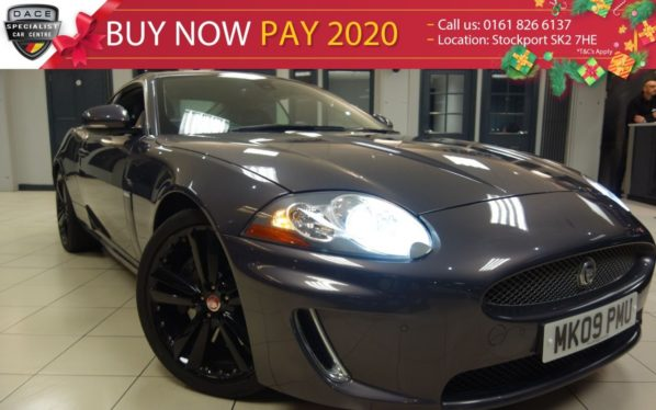 Used 2009 GREY JAGUAR XK Coupe 5.0 XK PORTFOLIO 2d 385 BHP (reg. 2009-03-27) for sale in Hazel Grove
