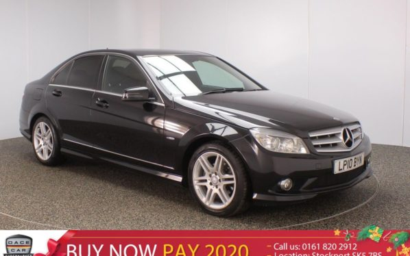 Used 2010 BLACK MERCEDES-BENZ C CLASS Saloon 2.1 C250 CDI BLUEEFFICIENCY SPORT 4DR 204 BHP (reg. 2010-08-31) for sale in Stockport