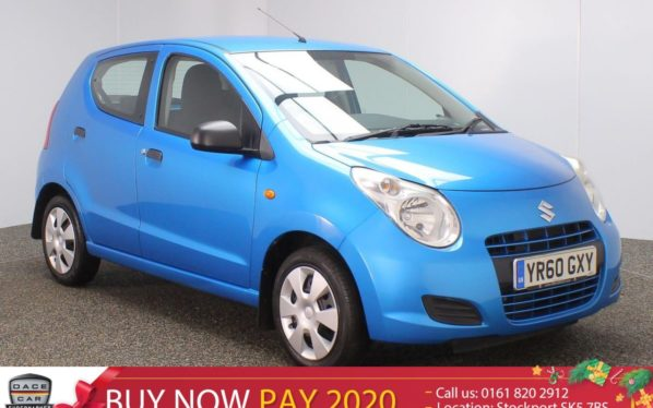 Used 2010 BLUE SUZUKI ALTO Hatchback SZ3 1 OWNER (reg. 2010-09-28) for sale in Stockport
