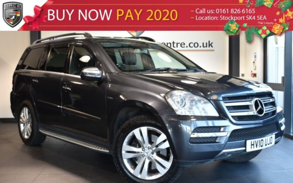 Used 2010 GREY MERCEDES-BENZ GL CLASS Estate 3.0 GL350 CDI BLUEEFFICIENCY 5DR 7SEATS 224 BHP (reg. 2010-03-27) for sale in Bolton