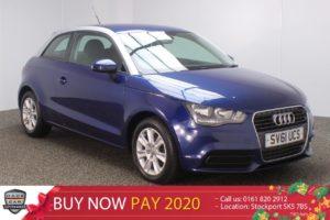Used 2011 BLUE AUDI A1 Hatchback 1.6 TDI SE 3DR 103 BHP (reg. 2011-09-17) for sale in Stockport