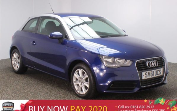 Used 2011 BLUE AUDI A1 Hatchback 1.6 TDI SE 3DR 103 BHP (reg. 2011-09-17) for sale in Stockport
